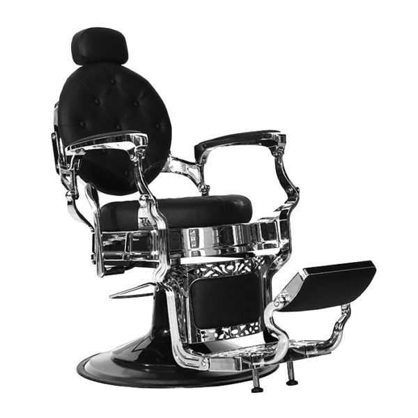 barber chair - The emperor barber chair in black for salon