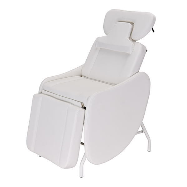 the mati eyelash chair features lumbar support and supreme comfort for your client