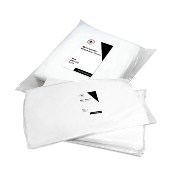 Fitted Bedsheets - 100 pack White
